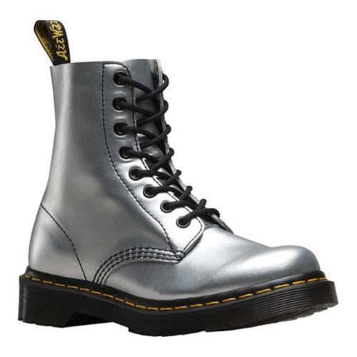 757465c176e97 Shop Women's Dr. Martens Pascal Boot 8 Eye Boot Alumix Silver Alumix ...