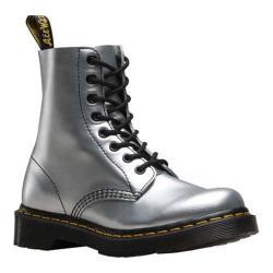 Women's Dr. Martens Pascal Boot 8 Eye Boot Alumix Silver Alumix