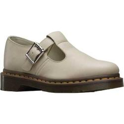 Women's Dr. Martens Polley T-Bar Mary Jane Ivory Virginia