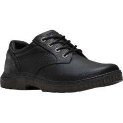 Men's Dr. Martens Prestige 4 Eye Shoe Black Pitstop Leather