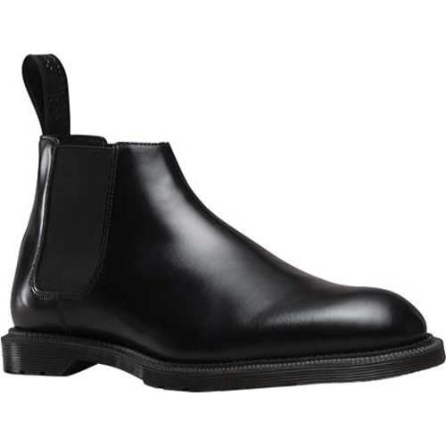 1a545ca5564 Men's Dr. Martens Wilde Low Chelsea Boot Black Wax Polished Smooth