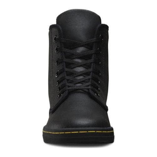 633926d2433 Women's Dr. Martens Shoreditch Black Greasy Lamper | Overstock.com Shopping  - The Best Deals on Boots