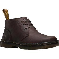 Men's Dr. Martens Sussex 3 Eye Chukka Dark Brown Bear Track