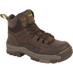 Men's Dr. Martens Truss Safety Toe Gaucho/Dark Brown Volcano/Water Resistant Suede
