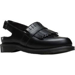 Women's Dr. Martens Valentine Loafer Slingback Black Polished Smooth