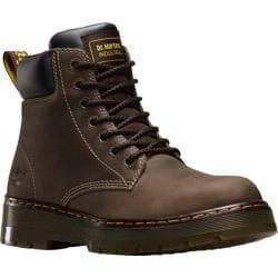 Men's Dr. Martens Winch 7 Eye Boot Dark Brown Wyoming Leather