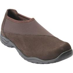 Women's Drew Amora Slip On Clog Brown Stretch