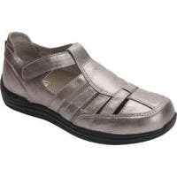 Women's Drew Ginger Fisherman Shoe Dusty Pewter Leather