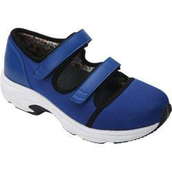 Women's Drew Solo Athletic Shoe Royal Blue Leather/Sport Mesh