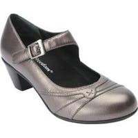 Women's Drew Summer Pump Pewter Leather