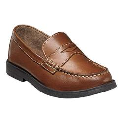 Boys' Florsheim Croquet Penny Jr. Saddle Tan Leather