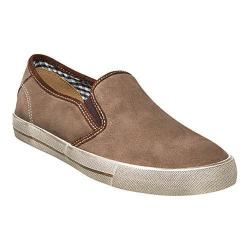 Men's Florsheim Flash Plain Toe Slip On Stone Suede