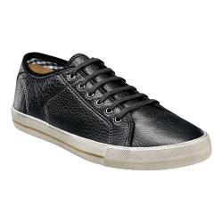 Men's Florsheim Flash Plain Toe Sneaker Black Milled Leather