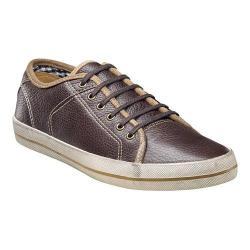 Men's Florsheim Flash Plain Toe Sneaker Brown Milled Leather