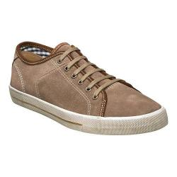 Men's Florsheim Flash Plain Toe Sneaker Stone Suede