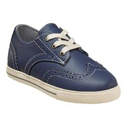 Boys' Florsheim Flash Wingtip Oxford Jr. Blue Leather