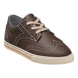 Boys' Florsheim Flash Wingtip Oxford Jr. Brown Leather