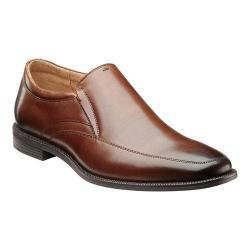 Men's Florsheim Forum Moc Toe Slip On Cognac Leather