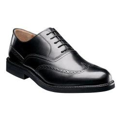 Men's Florsheim Gallo Wing Ox Black Smooth Leather