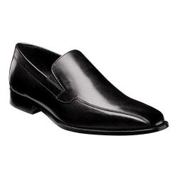 Men's Florsheim Jacobi Bike Slip On Black Leather