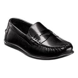 Boys' Florsheim Jasper Driver Jr. Black Leather