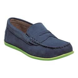 Boys' Florsheim Jasper Driver Jr. Blue Suede Leather