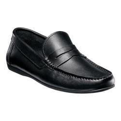 Men's Florsheim Jasper Penny Black Smooth Leather