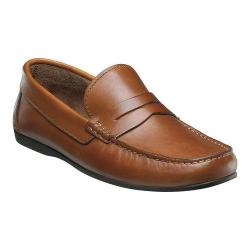 Men's Florsheim Jasper Penny Cognac Smooth Leather