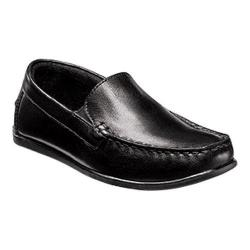 Boys' Florsheim Jasper Venetian Loafer Jr. Black Leather