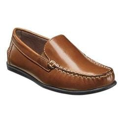 Boys' Florsheim Jasper Venetian Loafer Jr. Saddle Tan Leather