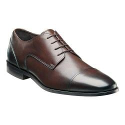 Men's Florsheim Jet Cap Ox Brown Smooth Leather