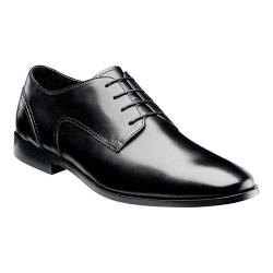Men's Florsheim Jet Plain Ox Black Smooth Leather