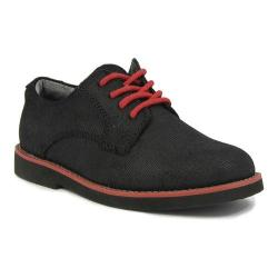 Boys' Florsheim Kearny Jr. Black/Red/Black Suede