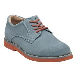 Boys' Florsheim Kearny Jr. Chalk Blue Suede with Brick Sole