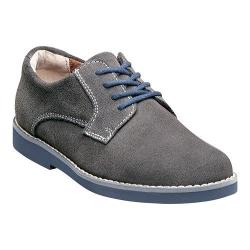 Boys' Florsheim Kearny Jr. Gray Suede with Navy Sole