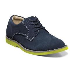 Boys' Florsheim Kearny Jr. Navy with Lime Sole