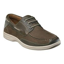 Men's Florsheim Lakeside Ox Boat Shoe Brown Nubuck