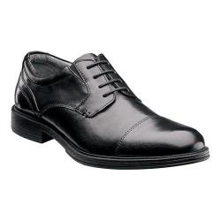Men's Florsheim Mogul Cap Oxford Black Leather