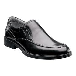 Men's Florsheim Mogul Moc Slip On Black Leather