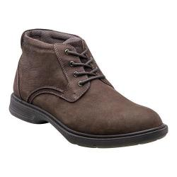 Men's Florsheim NDNS Chukka Boot Brown Nubuck Leather