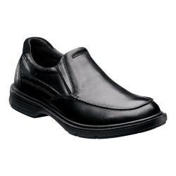 Men's Florsheim NDNS Moc Slip On Black Leather