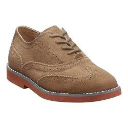Boys' Florsheim No String Wing Jr. Mocha Suede