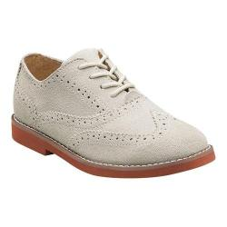 Boys' Florsheim No String Wing Jr. White Suede