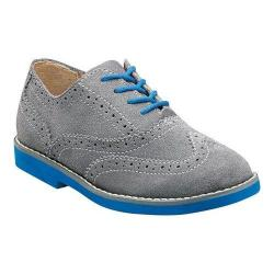 Boys' Florsheim No String Wing Jr. Grey Suede