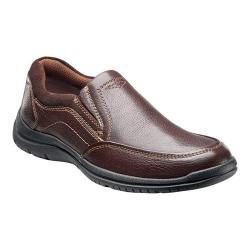 Men's Florsheim Pacer Moc Slip Brown Milled Leather