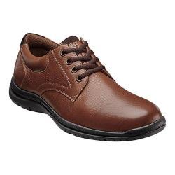Men's Florsheim Pacer Plain Oxford Cognac Tumbled Leather