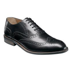 Men's Florsheim Pascal Wing Tip Oxford Black Smooth Leather