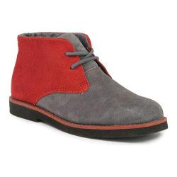 Boys' Florsheim Quinlan Jr. Dark Gray/Black Corduroy/Suede