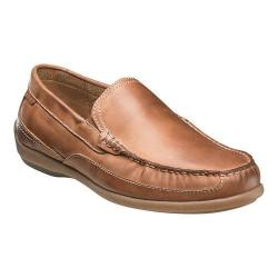 Men's Florsheim Moto Venetian Slip On Tan Crazy Horse Leather