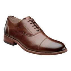 Men's Florsheim Rockit Cap Oxford Brown Leather